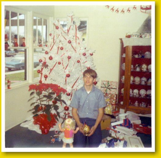 Living Room Christmas 1969