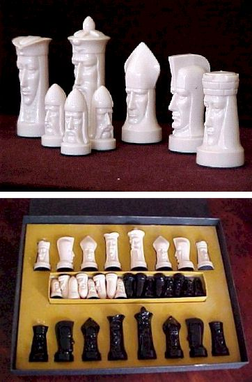 peter ganine gothic chess set