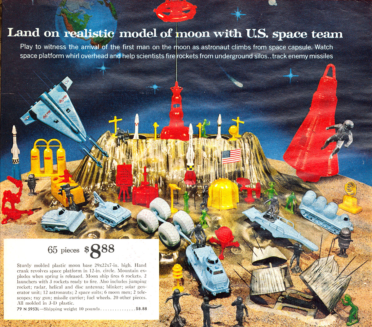 wes clark u0027s toys from the sixties