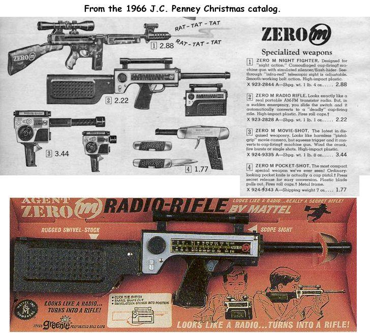 Mattel's Agent Zero M Radio Rifle ...