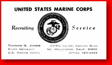 Us army recruiter business cards best business cards for Marine corps business cards