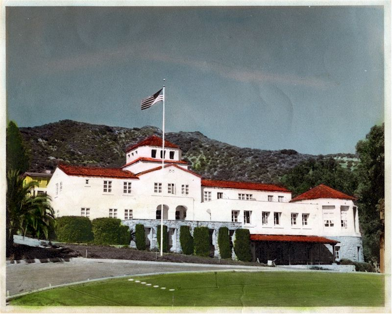 The Intersection Of Orange Grove And Sunset Canyon Originally A Private Golf Course Then Owned By City Building Had Been Left Vacant
