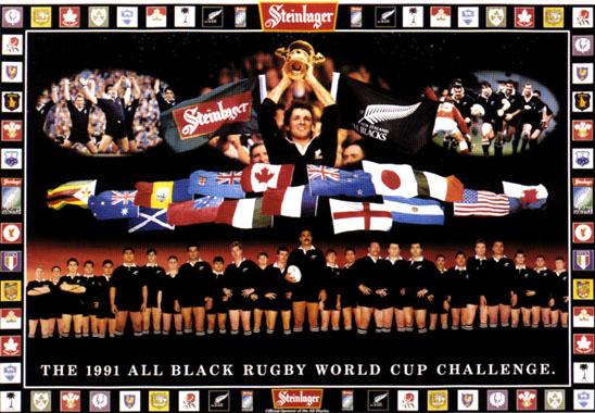 Team Lehrerinnenfotos Steinlager All Blacks Posters